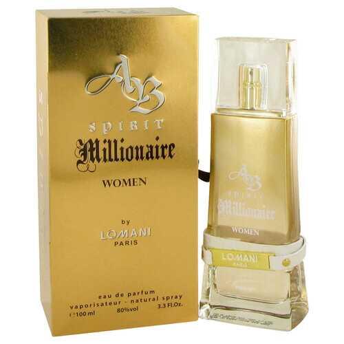 Spirit Millionaire by Lomani Eau De Parfum Spray 3.3 oz (Women)