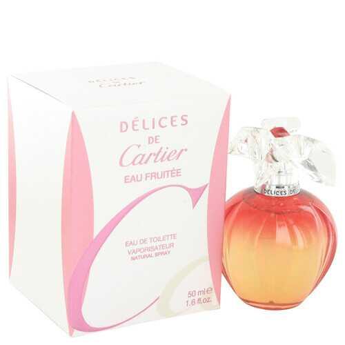 Delices De Cartier Eau Fruitee by Cartier Eau De Toilette Spray 1.6 oz (Women)