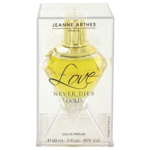 Love Never Dies Gold by Jeanne Arthes Eau De Parfum Spray 2 oz (Women)