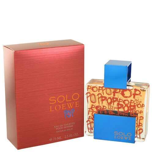 Solo Loewe Pop by Loewe Eau De Toilette Spray 2.5 oz (Men)