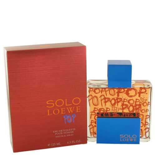 Solo Loewe Pop by Loewe Eau De Toilette Spray 4.3 oz (Men)