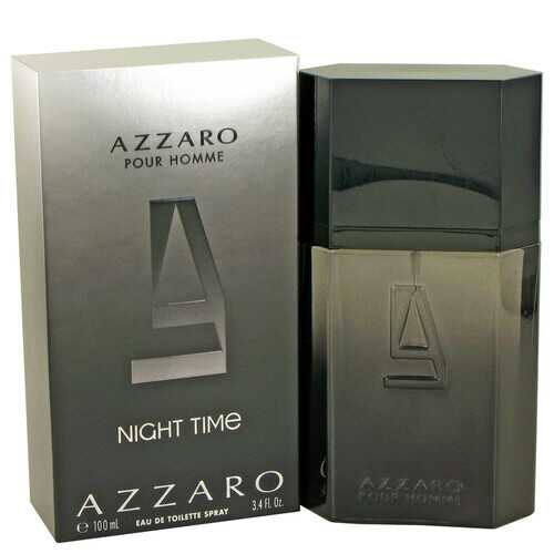 Azzaro Night Time by Azzaro Eau De Toilette Spray 3.4 oz (Men)