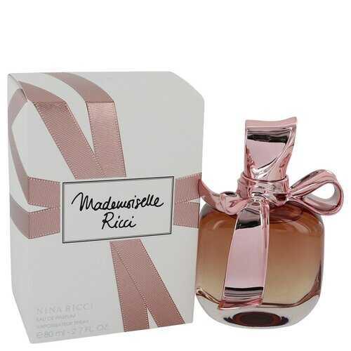 Mademoiselle Ricci by Nina Ricci Eau De Parfum Spray 2.7 oz (Women)