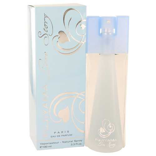 Fujiyama Love Story by Succes De Paris Eau De Parfum Spray 3.3 oz (Women)