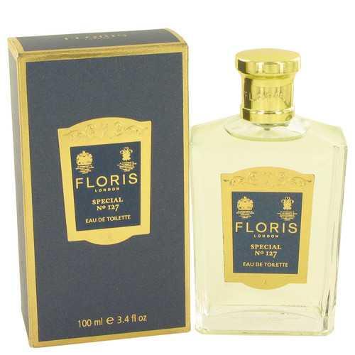 Floris Special No 127 by Floris Eau De Toilette Spray (Unisex) 3.4 oz (Men)