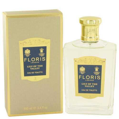 Floris Lily of The Valley by Floris Eau De Toilette Spray 3.4 oz (Women)