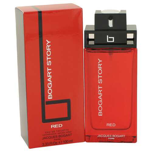 Bogart Story Red by Jacques Bogart Eau De Toilette Spray 3.4 oz (Men)
