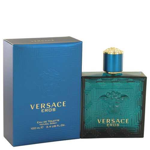 Versace Eros by Versace Eau De Toilette Spray 3.4 oz (Men)