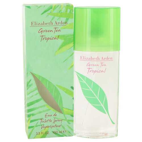 Green Tea Tropical by Elizabeth Arden Eau De Toilette Spray 3.3 oz (Women)