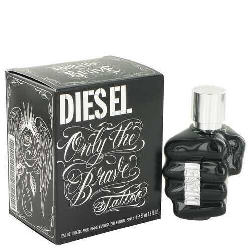 Only The Brave Tattoo by Diesel Eau De Toilette Spray 1.7 oz (Men)