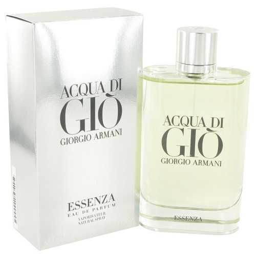 Acqua Di Gio Essenza by Giorgio Armani Eau De Parfum Spray 6 oz (Men)