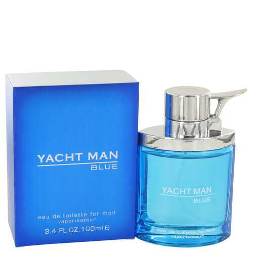 Yacht Man Blue by Myrurgia Eau De Toilette Spray 3.4 oz (Men)