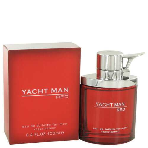 Yacht Man Red by Myrurgia Eau De Toilette Spray 3.4 oz (Men)