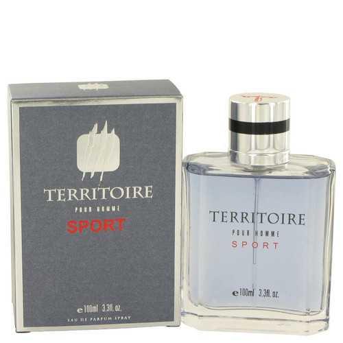 Territoire Sport by YZY Perfume Eau De Parfum Spray 3.3 oz (Men)