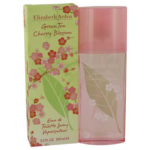 Green Tea Cherry Blossom by Elizabeth Arden Eau De Toilette Spray 3.3 oz (Women)