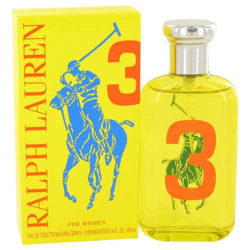 Big Pony Yellow 3 by Ralph Lauren Eau De Toilette Spray 3.4 oz (Women)