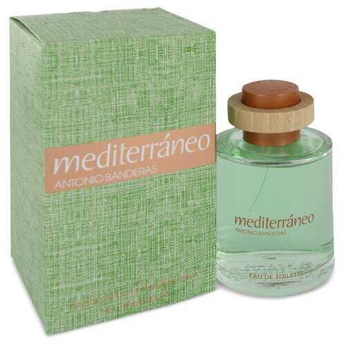 Mediterraneo by Antonio Banderas Eau De Toilette Spray 3.4 oz (Men)