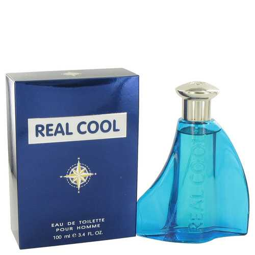 Real Cool by Victory International Eau De Toilette Spray 3.4 oz (Men)