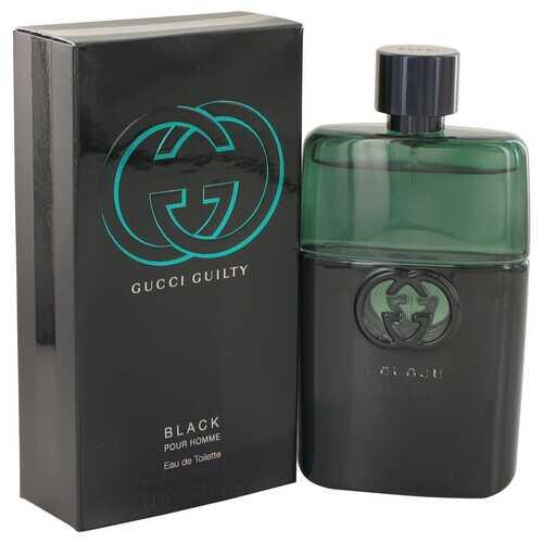Gucci Guilty Black by Gucci Eau De Toilette Spray 3 oz (Men)