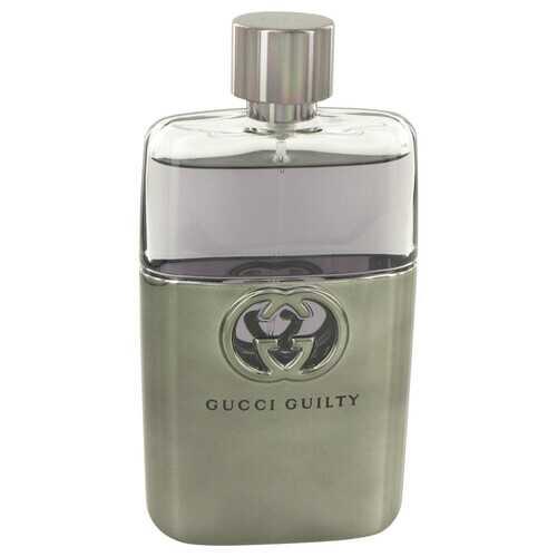 Gucci Guilty by Gucci Eau De Toilette Spray (Tester) 3 oz (Men)