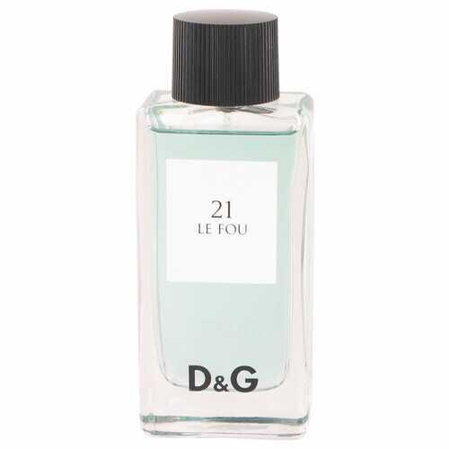Le Fou 21 by Dolce & Gabbana Eau De Toilette spray (Tester) 3.3 oz (Men)