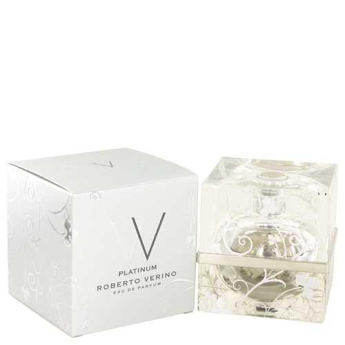 V V Platinum by Roberto Verino Eau De Parfum Spray 2.5 oz (Women)