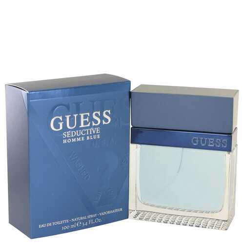 Guess Seductive Homme Blue by Guess Eau De Toilette Spray 3.4 oz (Men)