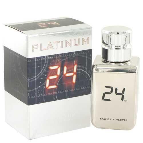 24 Platinum The Fragrance by ScentStory Eau De Toilette Spray 1.7 oz (Men)