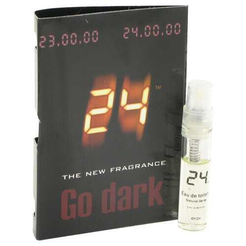 24 Go Dark The Fragrance by ScentStory Vial (sample) .04 oz (Men)