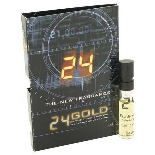 24 Gold The Fragrance by ScentStory Vial (sample) .06 oz (Men)