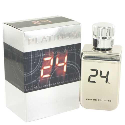 24 Platinum The Fragrance by ScentStory Eau De Toilette Spray 3.4 oz (Men)