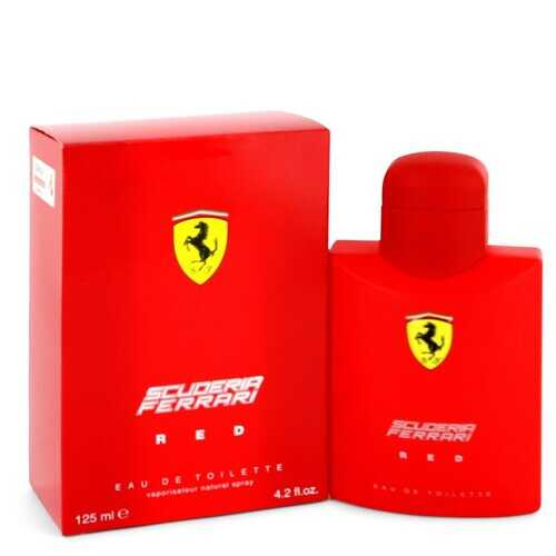 Ferrari Scuderia Red by Ferrari Eau De Toilette Spray 4.2 oz (Men)