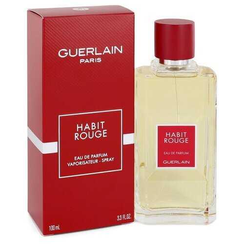 HABIT ROUGE by Guerlain Eau De Parfum Spray 3.3 oz (Men)