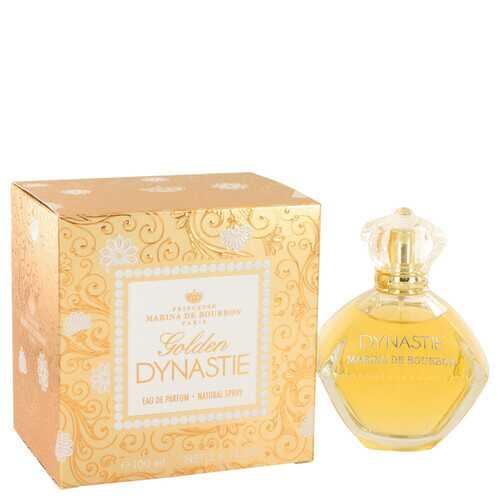 Golden Dynastie by Marina De Bourbon Eau De Parfum Spray 3.4 oz (Women)