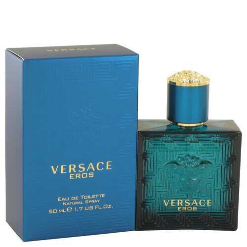 Versace Eros by Versace Eau De Toilette Spray 1.7 oz (Men)