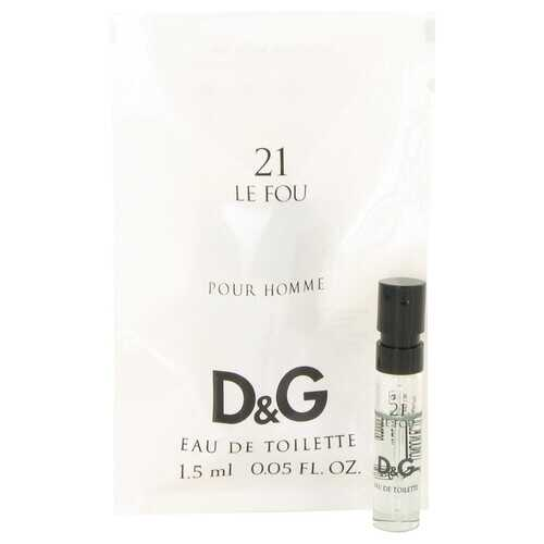 Le Fou 21 by Dolce & Gabbana Vial (Sample) .05 oz (Men)