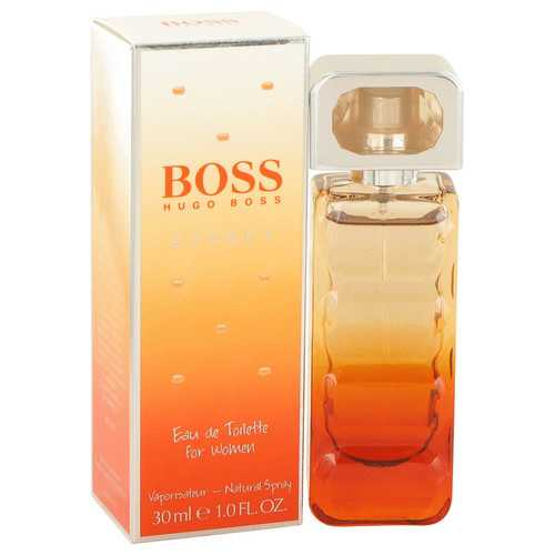 Boss Orange Sunset by Hugo Boss Eau De Toilette Spray 1 oz (Women)