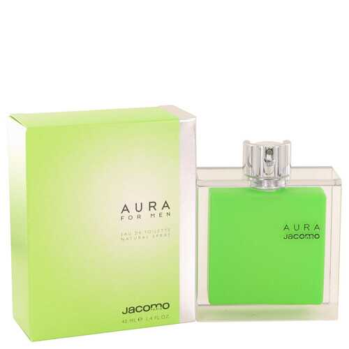 AURA by Jacomo Eau De Toilette Spray 1.4 oz (Men)