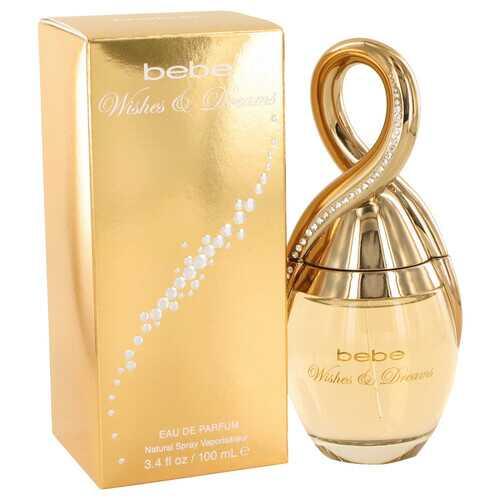 Bebe Wishes & Dreams by Bebe Eau De Parfum Spray 3.4 oz (Women)
