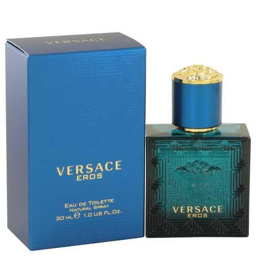 Versace Eros by Versace Eau De Toilette Spray 1 oz (Men)