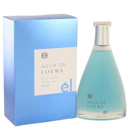 Agua De Loewe El by Loewe Eau De Toilette Spray 5 oz (Men)