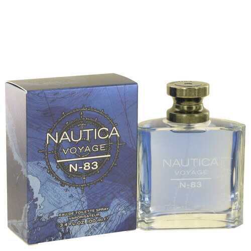 Nautica Voyage N-83 by Nautica Eau De Toilette Spray 3.4 oz (Men)