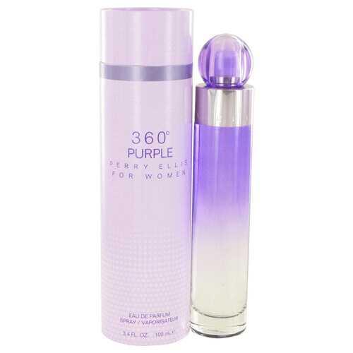Perry Ellis 360 Purple by Perry Ellis Eau De Parfum Spray 3.4 oz (Women)