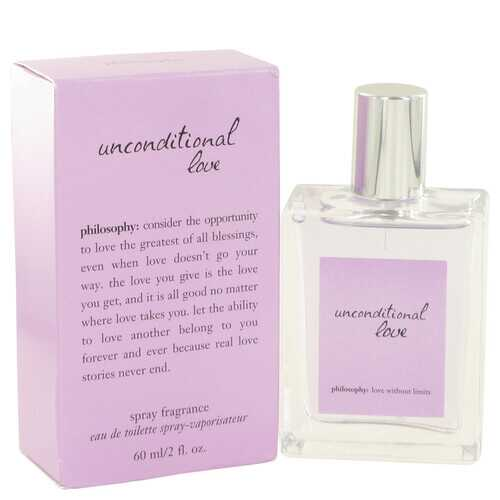 Unconditional Love by Philosophy Eau De Toilette Spray 2 oz (Women)