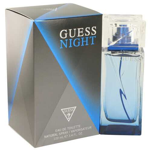 Guess Night by Guess Eau De Toilette Spray 3.4 oz (Men)