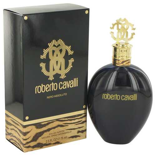 Roberto Cavalli Nero Assoluto by Roberto Cavalli Eau De Parfum Spray 2.5 oz (Women)