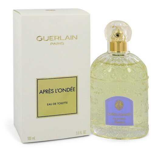 Apres L'ondee by Guerlain Eau De Toilette Spray 3.4 oz (Women)