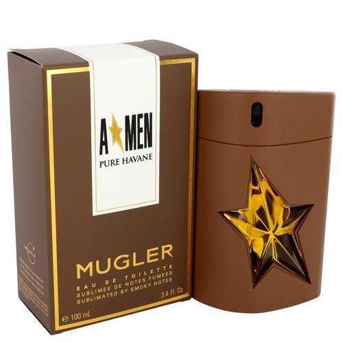 Angel Pure Havane by Thierry Mugler Eau De Toilette Spray 3.4 oz (Men)