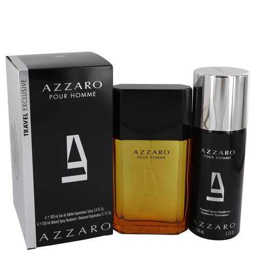 AZZARO by Azzaro Gift Set -- 3.4 oz Eau De Toilette Spray + 5.1 oz Deodorant Spray (Men)