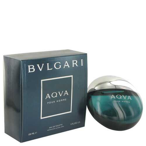 AQUA POUR HOMME by Bvlgari Eau De Toilette Spray 5 oz (Men)